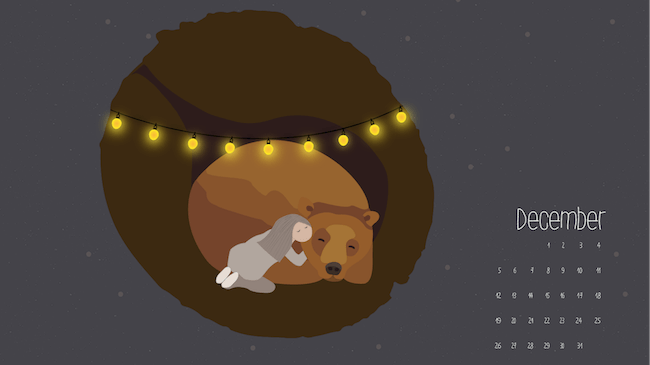 Christmas Wallpaper — Hibernation