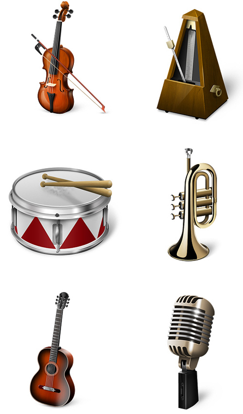 Free High Quality Icon Sets - Musicons Icon Set