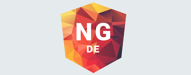 NG-DE 2019 - Angular Conference