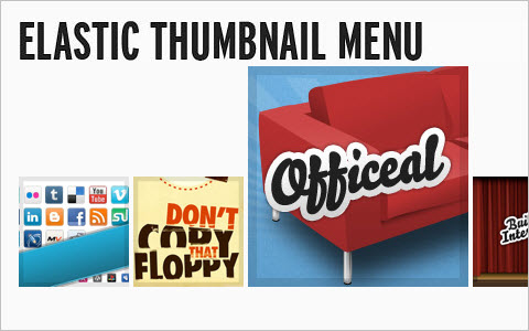 Sproing! - Make An Elastic Thumbnail Menu