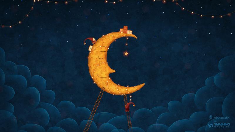 Dear Moon, Merry Christmas