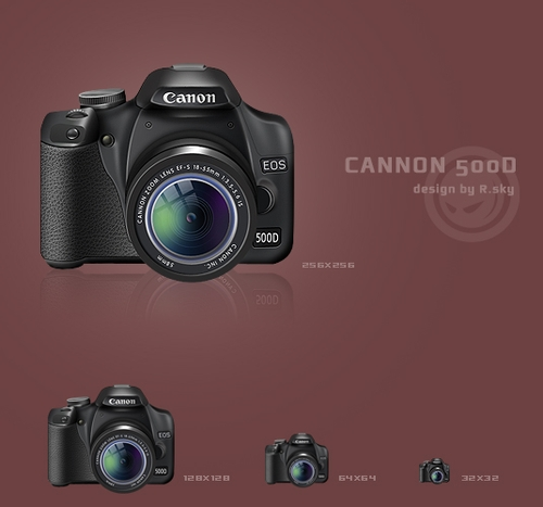 Free Icon Sets - CANON 500D ICON