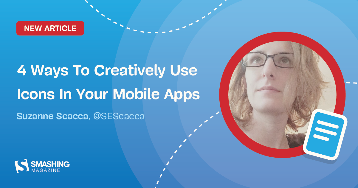 4 Ways To Creatively Use Icons In Your Mobile Apps