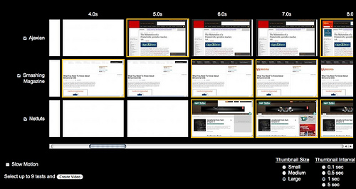 Web page visual comparison by you.