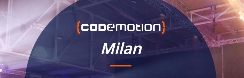 Codemotion Milan 2019