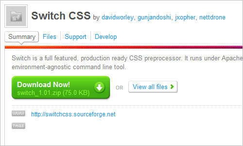 Switch CSS