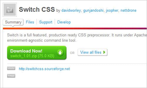 Switch CSS