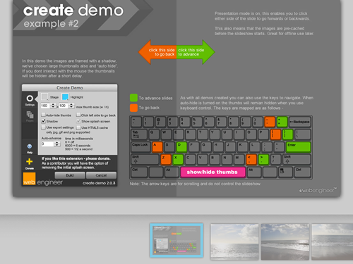Create Demo (view demo 2)