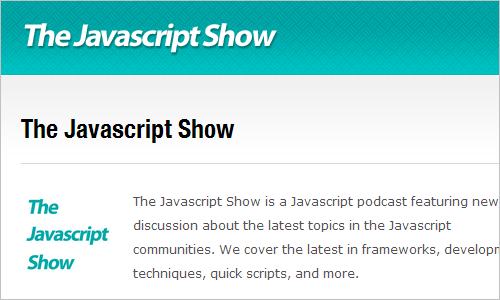 The Javascript Show