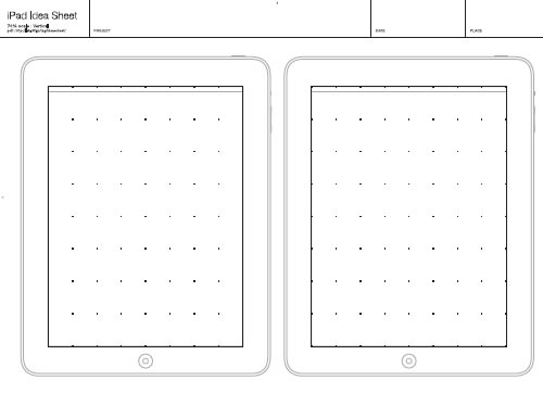 Free Printable Sketching, Wireframing and Note-Taking PDF Templates ...