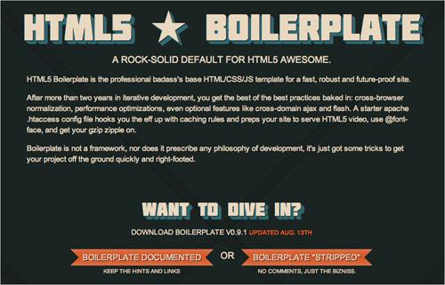 HTML5 Boiler Plate