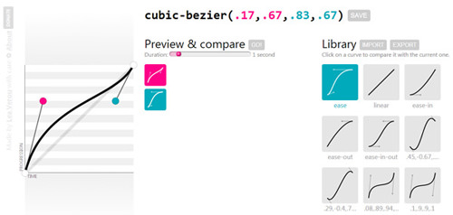 Lea Verou's superbly useful cubic-bezier.com