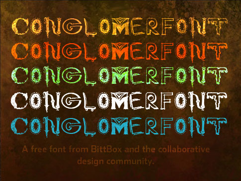 Conglomer Font