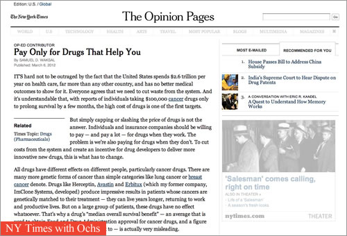 New York Times with Ochs extension