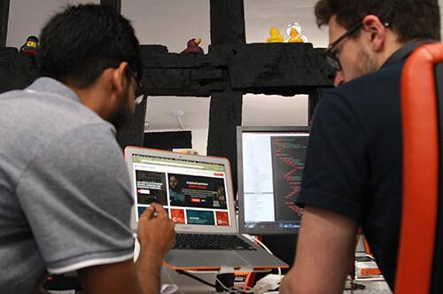 Cyber-Duck team meeting