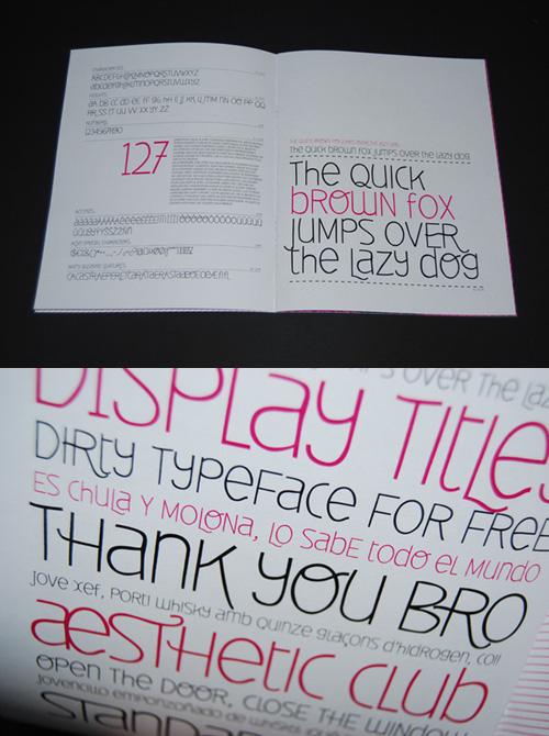 Typography Free Fonts - Deibi