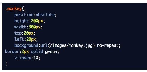 Outdenting properties for debug CSS