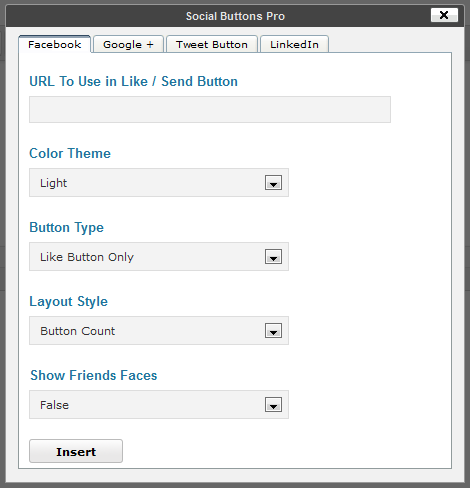 Social Buttons Pro