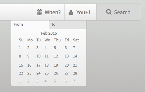 UI Mechanics of a Date Picker