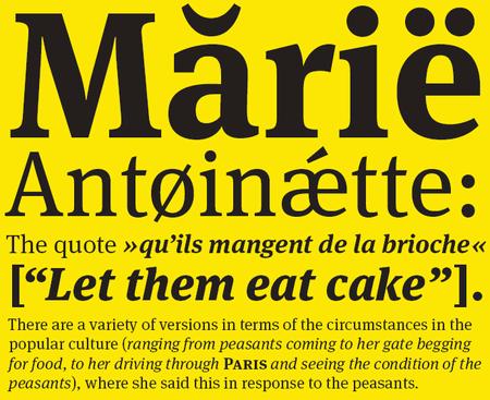 Professional Typefaces - FF Meta Serif