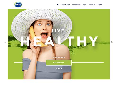 Naya website
