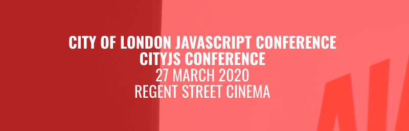 CityJS Conference 2020