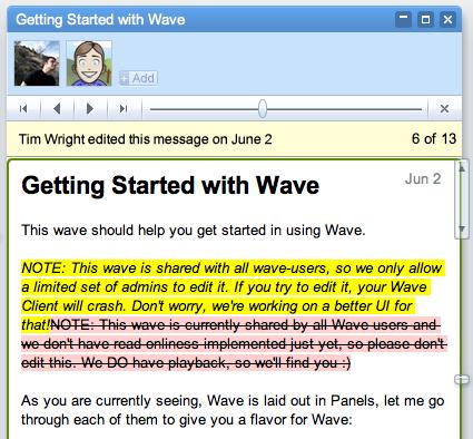 Google Wave