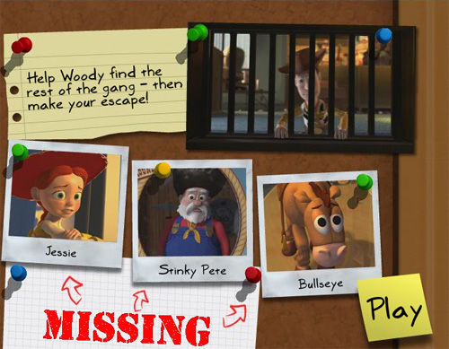 Toy Story - Woody's Big Escape