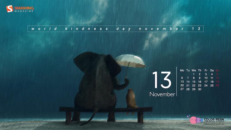 Inspiring Desktop Wallpapers To Make November Even More Colorful (2017 Edition)