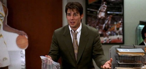 Jerry Maguire's quitting scene