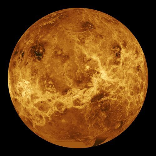 Space Photography - File:Venus globe.jpg