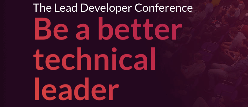 The Lead Developer London 2019