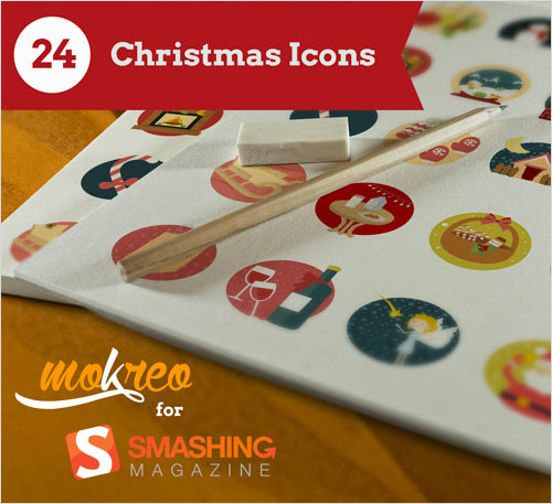 Freebie: Christmas Icon Set (24, Icons, AI, PSD, EPS, PDF, SVG, PNG) — Smashing Magazine
