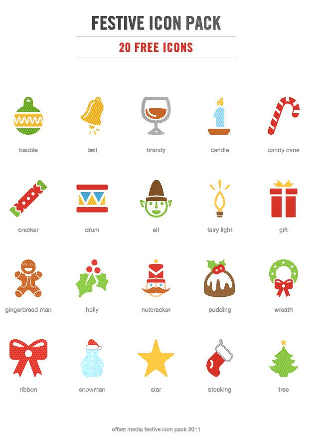 20 Festive Christmas Icons [Freebie] — Smashing Magazine