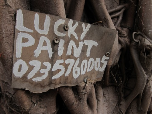 Wayfinding and Typographic Signs - lucky-paint