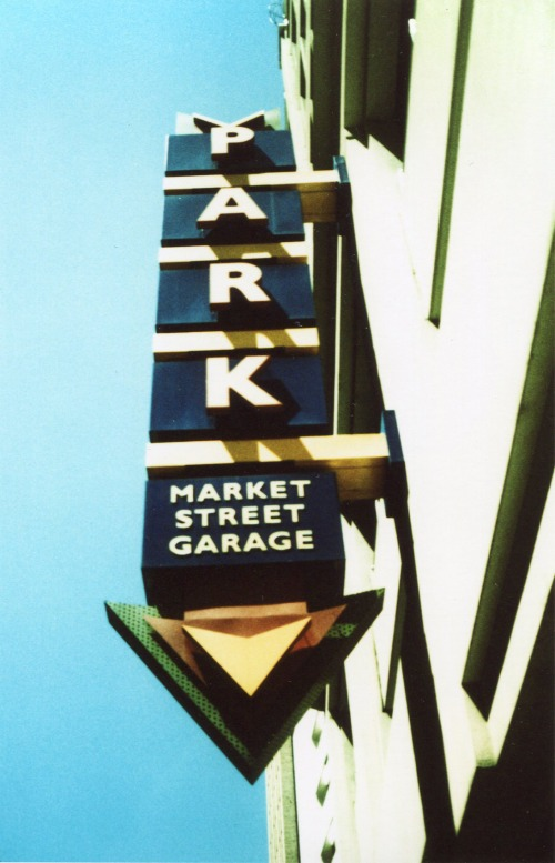 Wayfinding and Typographic Signs - your-where-cars-go