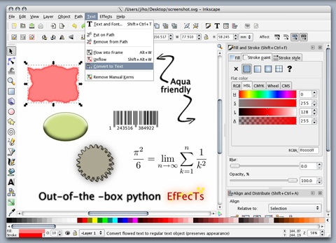 Portable Inkscape