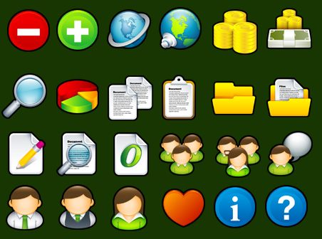 Free Icons Round-Up - Sleek XP Basic Icons