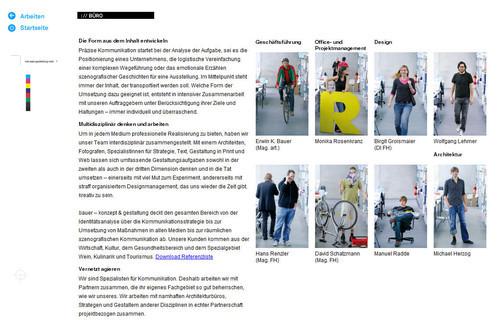 Showcase of Unusual Layouts - Erwin Bauer KEG – Designbüro für Konzept & Gestaltung