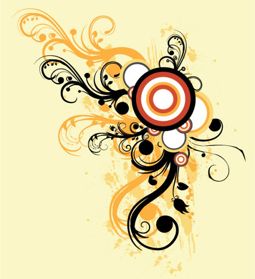 Swirls Adobe Illustrator Set
