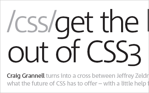 Get the best out of CSS3