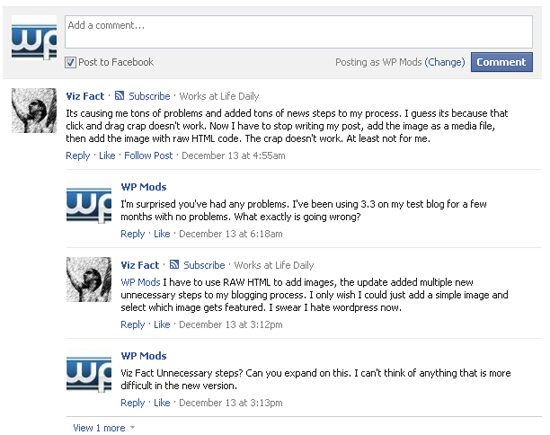facebook comments Randomly pick a facebook comment as a competition winner.