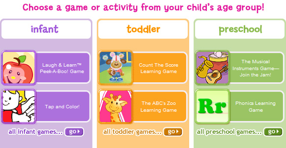 Online Learning Games from Fisher Price