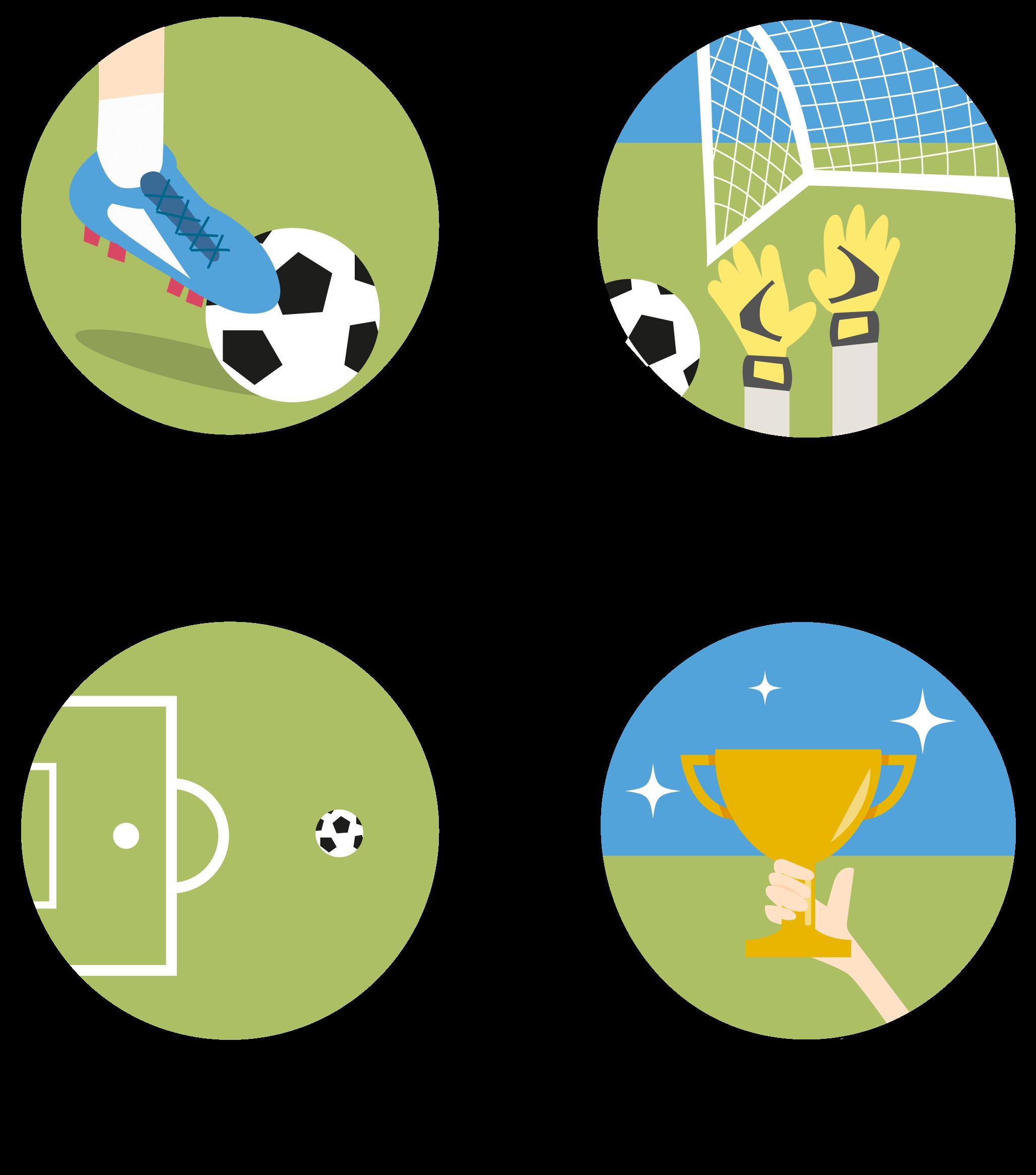 13 Sporty Soccer Football Icons Freebie Smashing Magazine