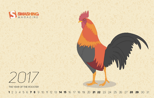 2017 - The Year Of The Rooster