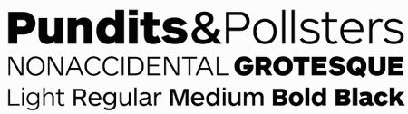 Professional Typefaces - Maquette