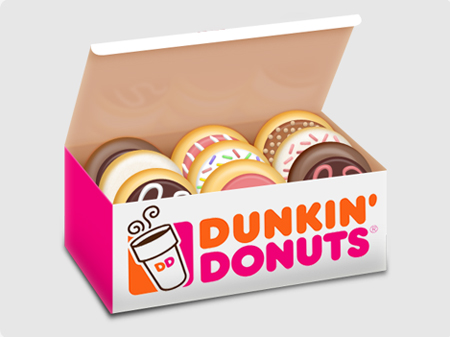 Free Icon Sets - Donut Box