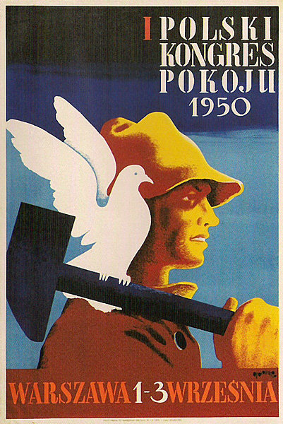 polish posters design - Peace Congress