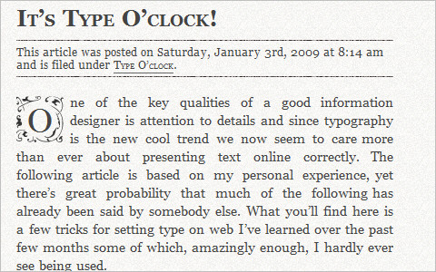 Useful Typography Resources - It's Type O'clock!