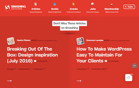 A Sneak-Peek At The New Smashing Magazine Redesign